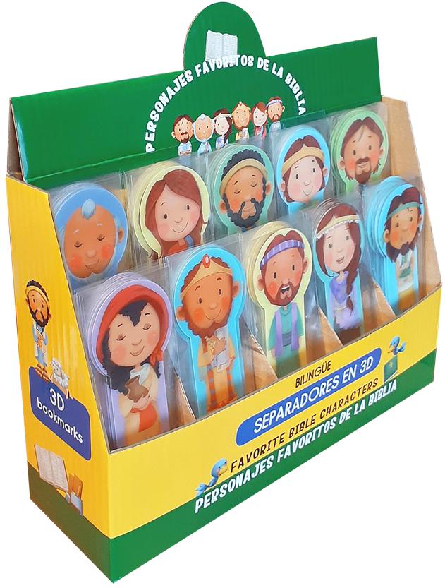 Separadores 3D Nuevos Personajes Bíblicos
